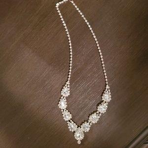 Rhinestone necklace